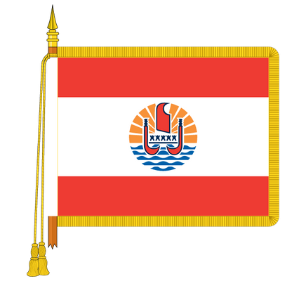 Ceremonial French Southern & Antarctic Lands Flag