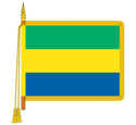 Ceremonial Gambia Flag