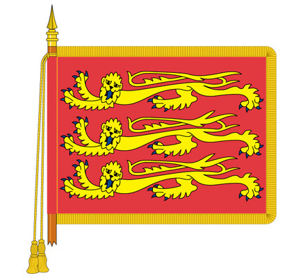 Ceremonial RAF Ensign