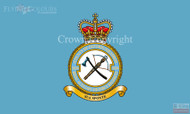 RAF 2624 County of Oxford Squadron Royal Auxiliary Air Force Regiment Flag