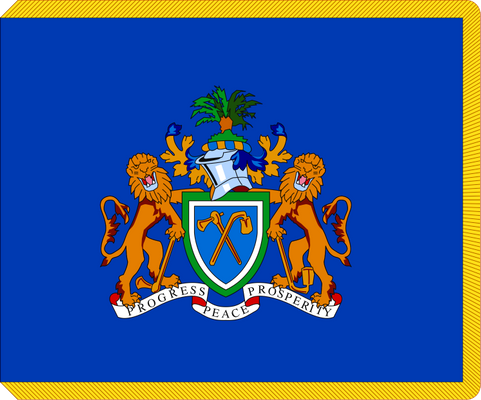 The Gambia Presidential Flag