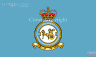 RAF 1 Regiment Squadron Flag