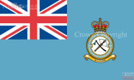 RAF 2624 County of Oxford Squadron Royal Auxiliary Air Force Regiment Ensign