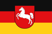 Lower Saxony Civil Flag Flag
