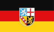 Saarland State and Civil Flag Flag