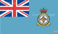 RAF 34 Regiment Squadron Ensign