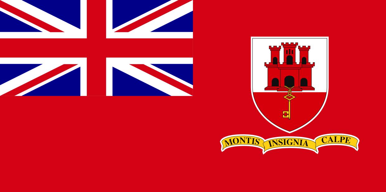10 flag bunting Gibraltar 3 metre long