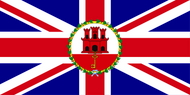 Gibraltar Governor Flag