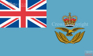 RAF Officers Cap Badge Ensign