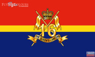 16th 5th The Queens Royal Lancers flag