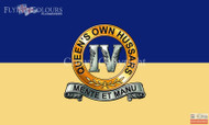 4th Queens own Hussars flag
