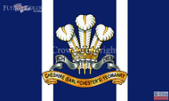 Cheshire Yeomanry flag