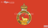 Hertfordshire Regiment flag