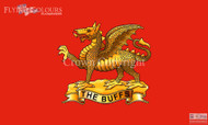 Prince of Wales Royal Regiment The Buffs flag