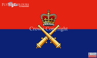 Royal School of Artillery flag