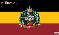 The East Lancashire Regiment flag