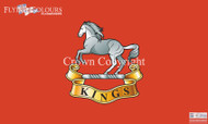 The Kings Regiment Liverpool flag