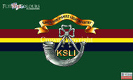 The Kings Shropshire Light Infantry flag