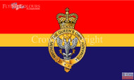 The Queens own personal Yeomanry flag