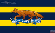 The Queens own Yeomanry flag