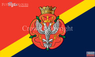 The Royal Mercian and Lancastrain Yeomanry flag
