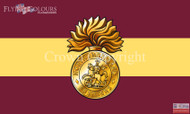 The Royal Northumberland Fusiliers flag