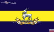 The Royal Warwickshire Fusiliers flag