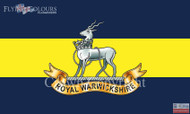 The Royal Warwickshire Regiment flag