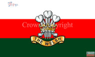 The Welsh Regiment flag