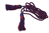 9ft Red & Blue, Royal Engineers Silk Cord & Tassels