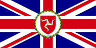 Isle of Man Lieutenant Governor Flag