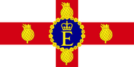 Personal Flag of HM The Queen (Jamaica)