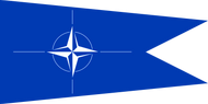 NATO Commodore Flag