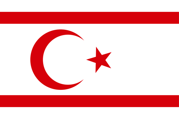Northern Cyprus (unrecognized) Flag