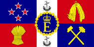 Personal Flag of HM The Queen (New Zealand)