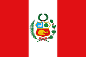 Perú National Flag