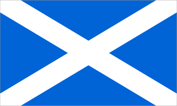"Scotland National Flag ""St. Andrew's Saltire"""