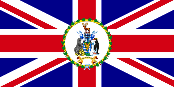 South Georgia & South Sandwich Islands Commissioner Flag