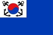 South Korea Naval Jack