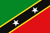 St. Kitts & Nevis National Flag