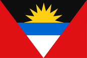Antigua & Barbuda National Flag
