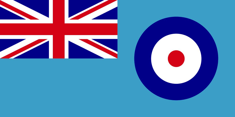 British UK United Kingdom Army Royal Air Power No 4 Polyester Table Flag