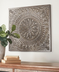 Briony Antique Gray Wall Decor