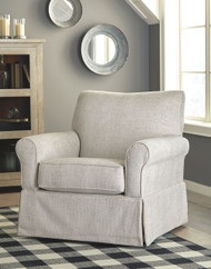 Searcy Quartz Swivel Glider Accent Chair