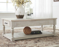 Shawnalore Whitewash Rectangular Cocktail Table