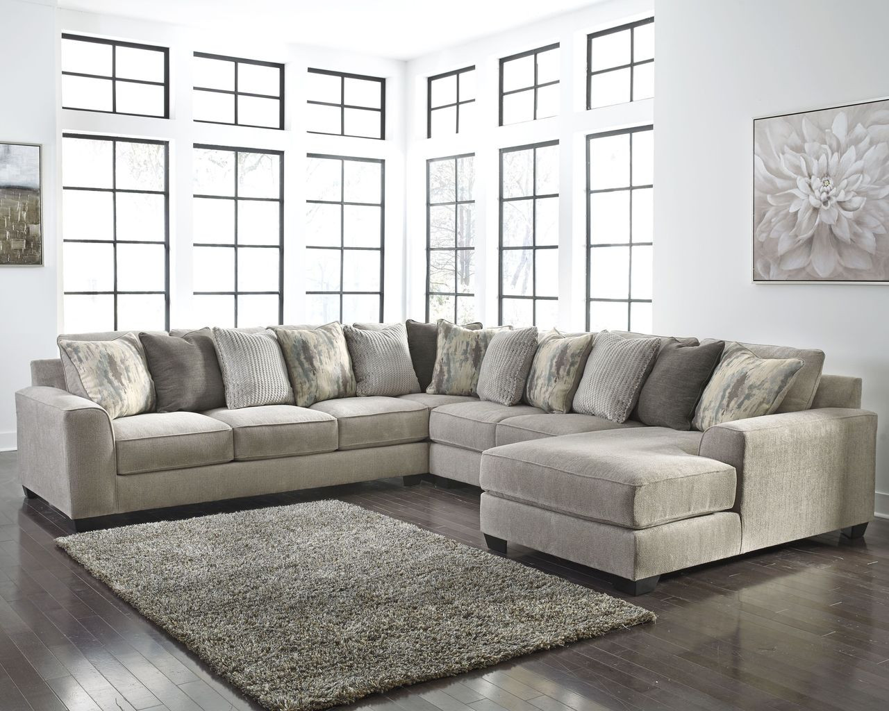Outstanding Ardsley Pewter Laf Sofa Wedge Armless Loveseat Raf Corner Chaise Sectional Gmtry Best Dining Table And Chair Ideas Images Gmtryco