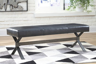 Lariland Black Accent Bench