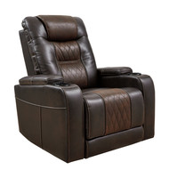 Composer Brown Power Recliner/ADJ Headrest
