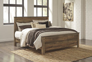 Trinell Brown King Panel Bed