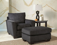 Wixon Slate Chair with Ottoman